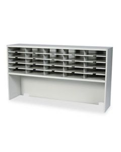 MLNSR6033RPG KWIK-FILE MAILFLOW-TO-GO 1 TIER SORTER W/RISER, 25 POCKETS, 60 X 13 1/4 X 33 1/4