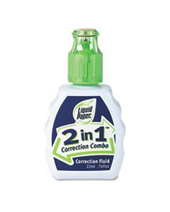 PAP42030 2-IN-1 CORRECTION COMBO, 22 ML BOTTLE, WHITE