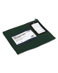 PMC04648 FLAT DARK GREEN TRANSIT SACK, 14W X 11H