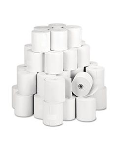 """PMC05213 DIRECT THERMAL PRINTING THERMAL PAPER ROLLS, 3.13"""" X 273 FT, WHITE, 50/CARTON"""