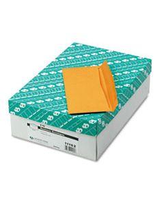 QUA11162 KRAFT ENVELOPE, #10, COMMERCIAL FLAP, GUMMED CLOSURE, 4.13 X 9.5, BROWN KRAFT, 500/BOX