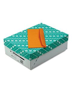 QUA11362 KRAFT ENVELOPE, #11, COMMERCIAL FLAP, GUMMED CLOSURE, 4.5 X 10.38, BROWN KRAFT, 500/BOX