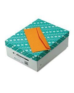 QUA11462 KRAFT ENVELOPE, #12, COMMERCIAL FLAP, GUMMED CLOSURE, 4.75 X 11, BROWN KRAFT, 500/BOX