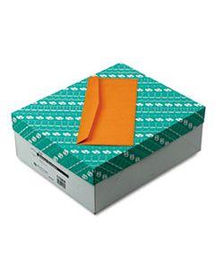 QUA11562 KRAFT ENVELOPE, #14, COMMERCIAL FLAP, GUMMED CLOSURE, 5 X 11.5, BROWN KRAFT, 500/BOX