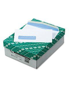 QUA21012 WINDOW ENVELOPE, #8 5/8, COMMERCIAL FLAP, GUMMED CLOSURE, 3.63 X 8.63, WHITE, 500/BOX