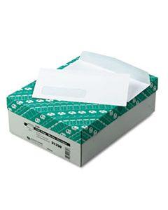 QUA21330 PARK RIDGE EMBOSSED EXECUTIVE ENVELOPE, #10, COMMERCIAL FLAP, GUMMED CLOSURE, 4.13 X 9.5, WHITE, 500/BOX