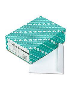 QUA37113 OPEN-SIDE BOOKLET ENVELOPE, #6 1/2, HUB FLAP, GUMMED CLOSURE, 6 X 9, WHITE, 100/BOX
