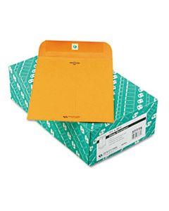 QUA37775 CLASP ENVELOPE, #75, CHEESE BLADE FLAP, CLASP/GUMMED CLOSURE, 7.5 X 10.5, BROWN KRAFT, 100/BOX