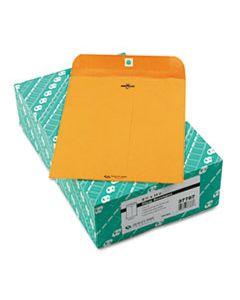 QUA37787 CLASP ENVELOPE, #87, CHEESE BLADE FLAP, CLASP/GUMMED CLOSURE, 8.75 X 11.5, BROWN KRAFT, 100/BOX