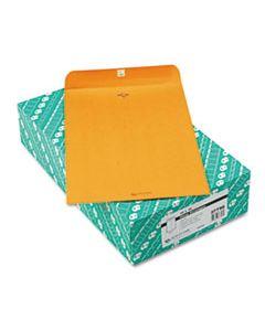 QUA37798 CLASP ENVELOPE, #15, CHEESE BLADE FLAP, CLASP/GUMMED CLOSURE, 10 X 15, BROWN KRAFT, 100/BOX