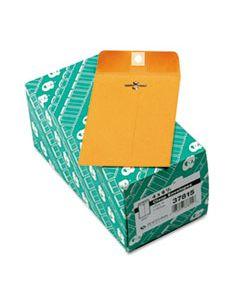 QUA37815 CLASP ENVELOPE, #15, CHEESE BLADE FLAP, CLASP/GUMMED CLOSURE, 4 X 6.38, BROWN KRAFT, 100/BOX