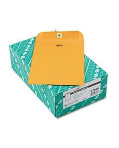 QUA37868 CLASP ENVELOPE, #68, CHEESE BLADE FLAP, CLASP/GUMMED CLOSURE, 7 X 10, BROWN KRAFT, 100/BOX