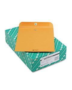 QUA37895 CLASP ENVELOPE, #97, CHEESE BLADE FLAP, CLASP/GUMMED CLOSURE, 10 X 13, BROWN KRAFT, 100/BOX