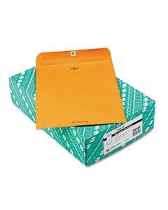 QUA38197 CLASP ENVELOPE, #97, CHEESE BLADE FLAP, CLASP/GUMMED CLOSURE, 10 X 13, BROWN KRAFT, 100/BOX