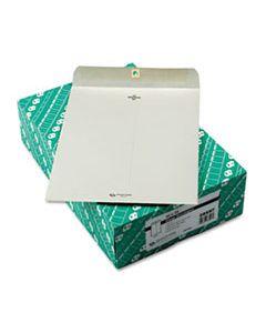 QUA38597 CLASP ENVELOPE, #97, CHEESE BLADE FLAP, CLASP/GUMMED CLOSURE, 10 X 13, EXECUTIVE GRAY, 100/BOX