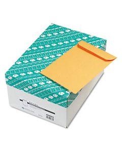 QUA40865 CATALOG ENVELOPE, #1 3/4, CHEESE BLADE FLAP, GUMMED CLOSURE, 6.5 X 9.5, BROWN KRAFT, 500/BOX