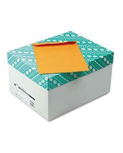 QUA41065 CATALOG ENVELOPE, #6, CHEESE BLADE FLAP, GUMMED CLOSURE, 7.5 X 10.5, BROWN KRAFT, 500/BOX