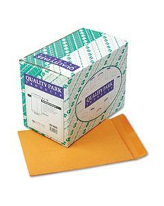 QUA41460 CATALOG ENVELOPE, #10 1/2, CHEESE BLADE FLAP, GUMMED CLOSURE, 9 X 12, BROWN KRAFT, 250/BOX