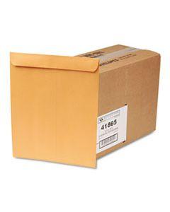 QUA41865 CATALOG ENVELOPE, #14 1/2, CHEESE BLADE FLAP, GUMMED CLOSURE, 11.5 X 14.5, BROWN KRAFT, 250/BOX