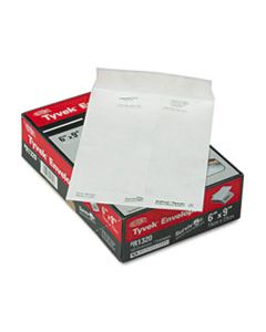 QUAR1320 CATALOG MAILERS, DUPONT TYVEK, #6 1/2, CHEESE BLADE FLAP, SELF-ADHESIVE CLOSURE, 6 X 9, WHITE, 100/BOX