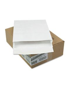 QUAR4520 OPEN END EXPANSION MAILERS, DUPONT TYVEK, #15 1/2, FLIP-STIK FLAP, FLAP-STICK CLOSURE, 12 X 16, WHITE, 100/CARTON
