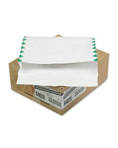 QUAR4620 OPEN SIDE EXPANSION MAILERS, DUPONT TYVEK, #13 1/2, CHEESE BLADE FLAP, SELF-ADHESIVE CLOSURE, 10 X 13, WHITE, 100/CARTON