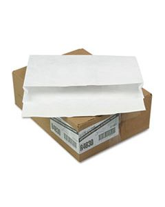 QUAR4630 OPEN SIDE EXPANSION MAILERS, DUPONT TYVEK, #15, CHEESE BLADE FLAP, SELF-ADHESIVE CLOSURE, 10 X 15, WHITE, 100/CARTON