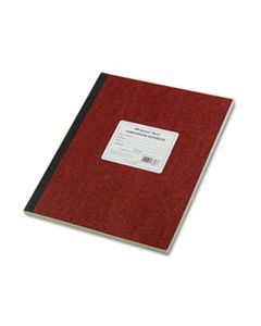 RED43648 COMPUTATION NOTEBOOK, 4 SQ/IN QUADRILLE RULE, 11.75 X 9.25, GREEN TINT, 75 SHEETS