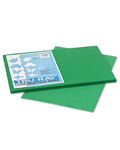 PAC102961 TRU-RAY CONSTRUCTION PAPER, 76LB, 12 X 18, HOLIDAY GREEN, 50/PACK