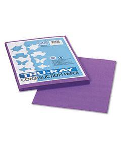 PAC103009 TRU-RAY CONSTRUCTION PAPER, 76LB, 9 X 12, VIOLET, 50/PACK