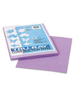 PAC103018 TRU-RAY CONSTRUCTION PAPER, 76LB, 9 X 12, LILAC, 50/PACK