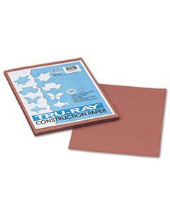 PAC103025 TRU-RAY CONSTRUCTION PAPER, 76LB, 9 X 12, WARM BROWN, 50/PACK