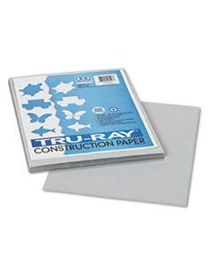 PAC103027 TRU-RAY CONSTRUCTION PAPER, 76LB, 9 X 12, GRAY, 50/PACK