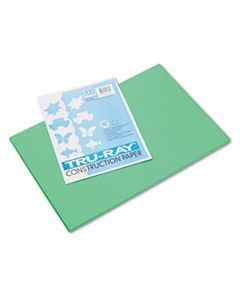 PAC103038 TRU-RAY CONSTRUCTION PAPER, 76LB, 12 X 18, FESTIVE GREEN, 50/PACK