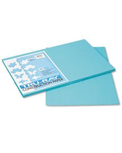 PAC103039 TRU-RAY CONSTRUCTION PAPER, 76LB, 12 X 18, TURQUOISE, 50/PACK