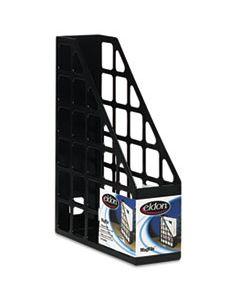 RUB40406ROS TECHFILE PLASTIC MAGAZINE FILE, 3 X 9 5/8 X 11 5/8, BLACK