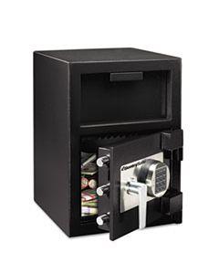 SENDH109E DIGITAL DEPOSITORY SAFE, EXTRA LARGE, 1.3 CU FT, 14W X 15.6D X 24H, BLACK