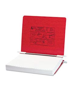 "ACC54129 PRESSTEX COVERS WITH STORAGE HOOKS, 2 POSTS, 6"" CAPACITY, 11 X 8.5, EXECUTIVE RED"