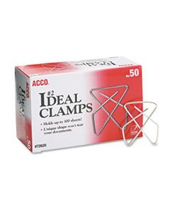 ACC72620 IDEAL CLAMPS, SMALL (NO. 2), SILVER, 50/BOX