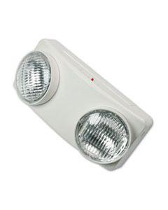"TCO70012 SWIVEL HEAD TWIN BEAM EMERGENCY LIGHTING UNIT, 12.75""W X 4""D X 5.5""H, WHITE"
