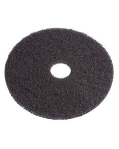 "AO-400113 FLOOR PAD 13"" BLACK STRIP 5cs"