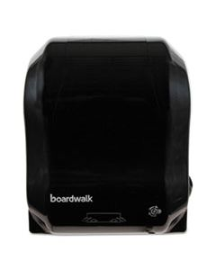 BWK1501 BOARDWALK HANDS FREE MECH TOWEL DISPENSER 13.24x16.25x10.25, BLACK, EA