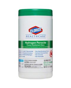 CP-30825 WIPE CLNR DISINFCT CHPW 6/155 HYDROGEN PEROXIDE HEALTHCARE