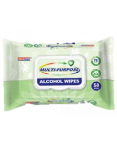 GERM-G01440 GERMISEPT MULTI-PURPOSE ALCOHOL WIPES 50/PACK EA