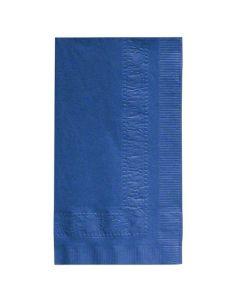 HM-602-D22 NAP DINNER BLUE 15X17 2PLY 1/8FLD 8/125 1000/CS