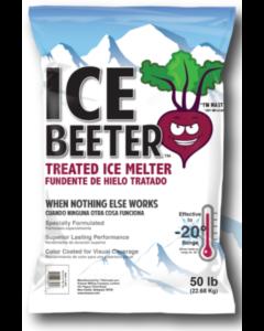 KISSNER ICE BEETER TREATED ICE MELT 50# BAG EA