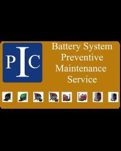 BATTERY PREVENTIVE MAINTENANCE SERVICE, PER DEVICE, PER CALL