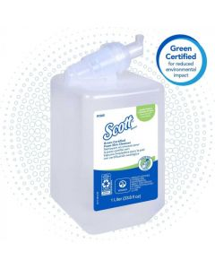 KC-91565 SCOTT 91565 ESSENTIAL 1LITER, UNSCENTED, FOAM SKIN CLEANSER 6/CS
