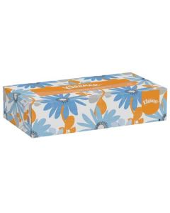 KC-21606 TISSUE FACIAL 2PLY 8.4X8 KLEENEX 48/125CT