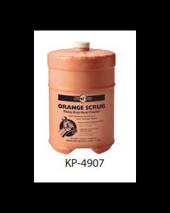KP-4907 KUTOL ORANGE HAND CLEANER SCRUB & NATURAL W/ PUMICE 1GAL 4/CS